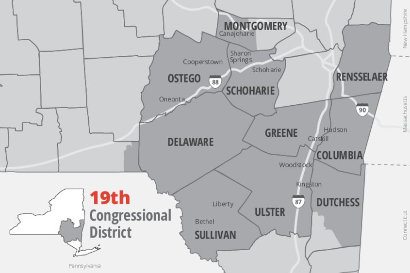 Map Of New York 19th Congressional District.Photos Elise Stefanik Declares Victory Over Tedra Cobb The Daily