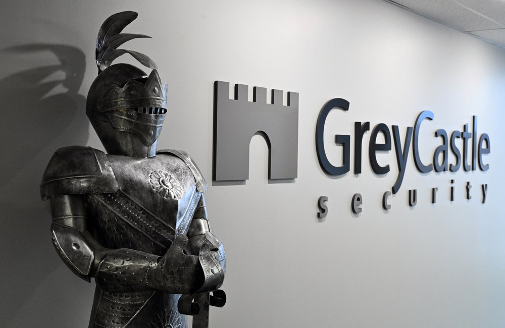 MARC SCHULTZ/GAZETTE PHOTOGRAPHER GreyCastle Security located at 500 Federal St. in Troy.