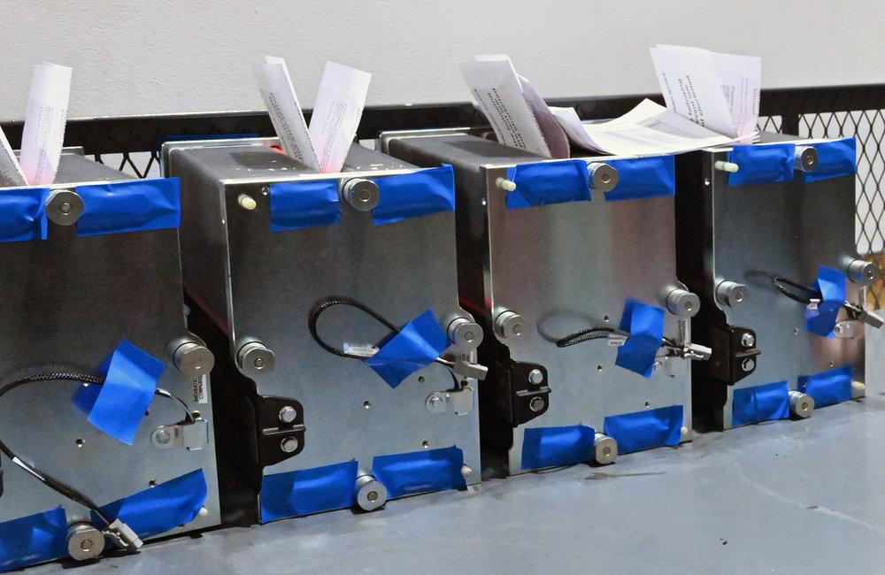"""MARC SCHULTZ/GAZETTE PHOTOGRAPHER Plug Power """"stacks"""" for fuel cell production."""