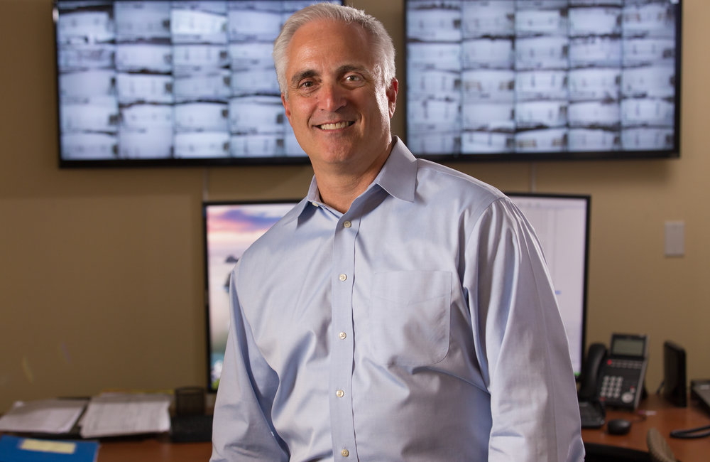 Don Berchoff, CEO of TruWeather Solutions LLC.  Photographer: Paul Miller