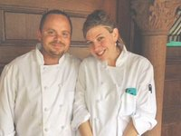 Morgan & Co. Restaurant co-owners Steve Butters and Rebecca Newell-Butters