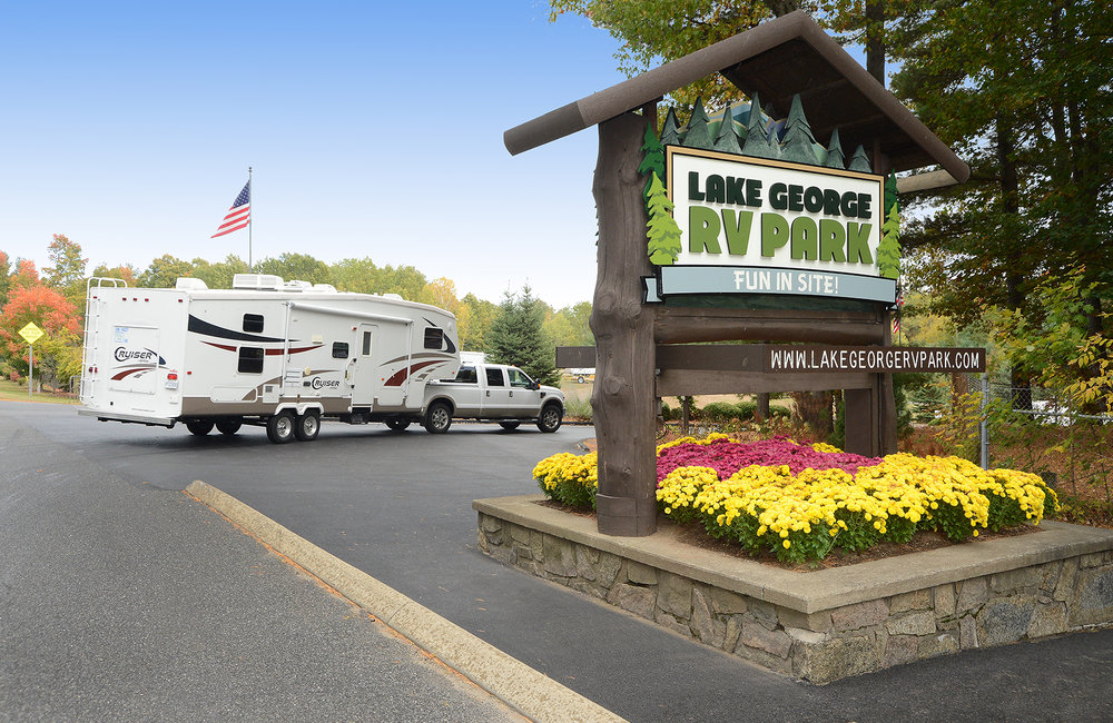 PHOTO PROVIDED Lake George RV Park on Route 149.