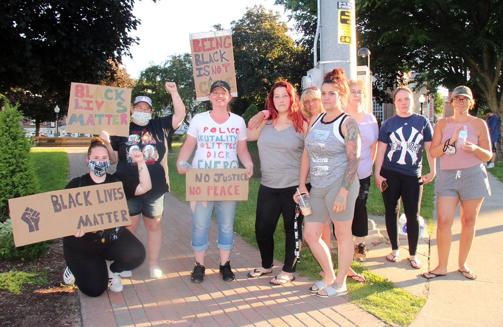Fort Plain protest